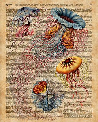 Upcycled Art Prints