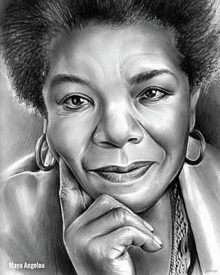 Maya Angelou Art