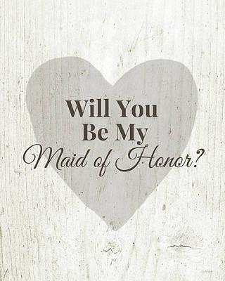 Maid Of Honor Prints