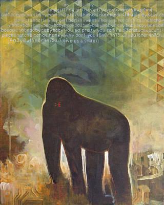 Gorilla Paintings Prints