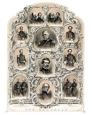 Designs Similar to Our Generals -- Union Civil War