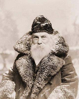 Father Christmas Photographs Prints
