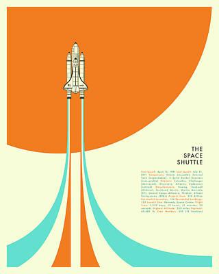 Space Ships Art Prints