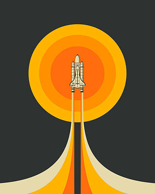 Space Ship Art Prints