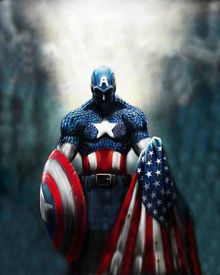 Designs Similar to Captain America  by Geek N Rock