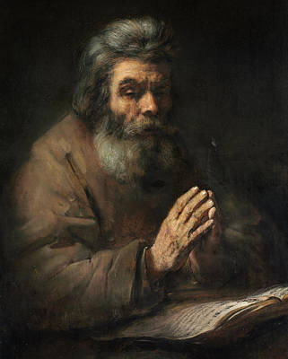 Designs Similar to An Elderly Man In Prayer, 1660
