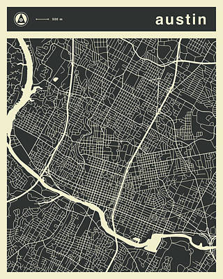 Road Map Prints