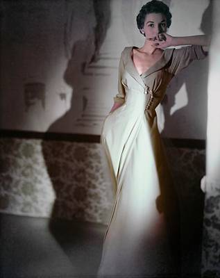 Designs Similar to Model In A Vanity Fair Negligee