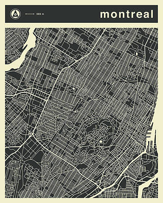 Montreal Art Prints