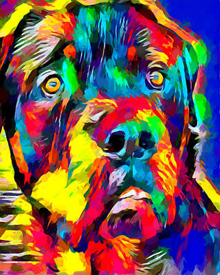 Designs Similar to Rottweiler 2 by Chris Butler
