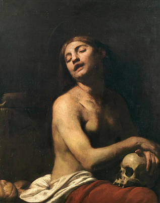 Designs Similar to The Penitent Mary Magdalene