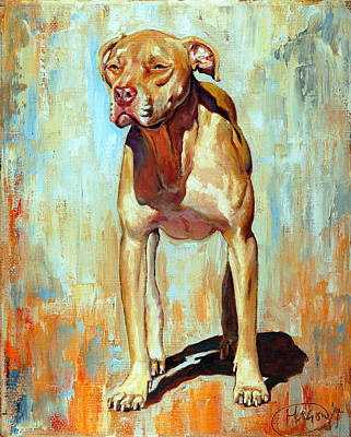Painting - Blondie by Maurice Morgan II