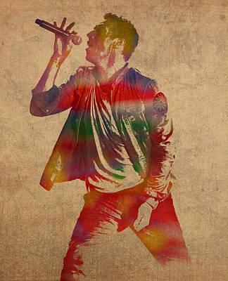 Coldplay Wall Art