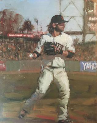 Brandon Crawford Paintings