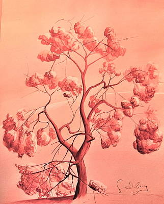 Painting - Tree by Andrew Sandberg