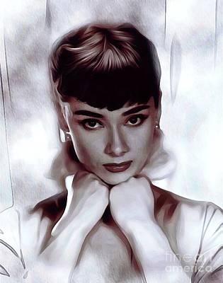 Designs Similar to Audrey Hepburn, Actress