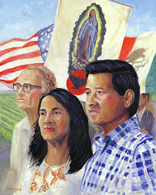 Cesar Chavez Paintings