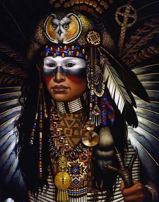 Face Paint Paintings