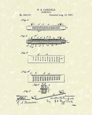Harmonica Drawings