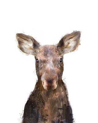 Baby Moose Art