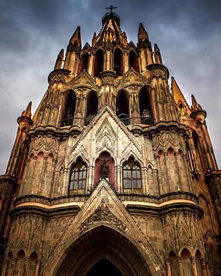 Photograph - Parroquia de San Miguel Arcangel by Kevin Davis