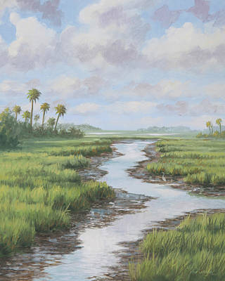 Painting - South Carolina Creek by Guy Crittenden
