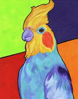Cockatiel Paintings
