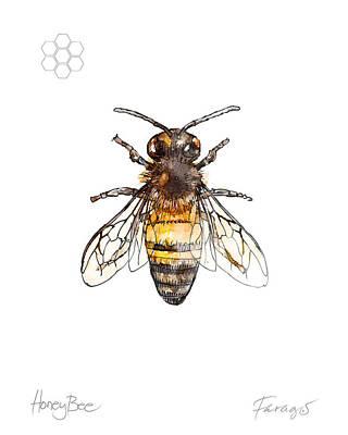 Honeybee Art Prints