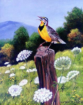 Meadowlark Wall Art
