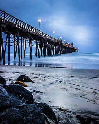 Photograph - Oceanside Blue by Kevin Davis