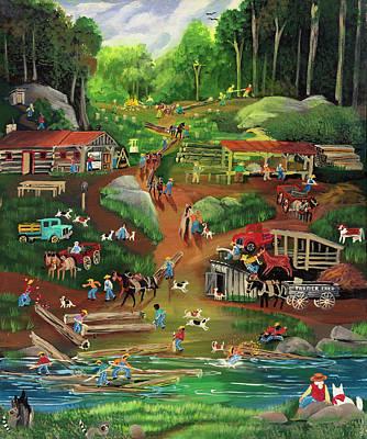 Logging Paintings