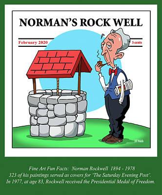 Norman Rockwell Digital Art