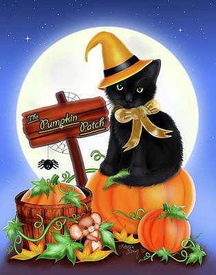 Pumpkin Patch Digital Art