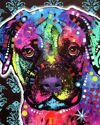 Bullmastiff Art