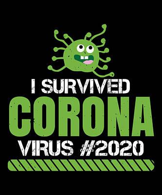 Coronavirus Art Prints