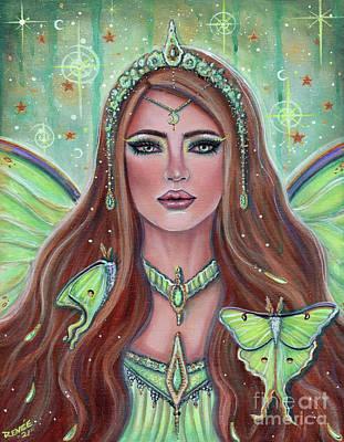 Painting - Aine Irish goddess by Renee Lavoie