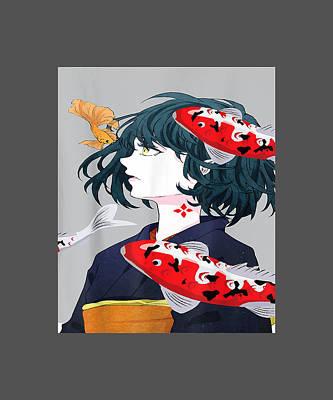 Girl otaku art anime anime girl