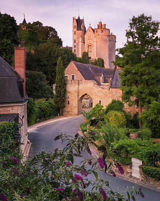 Photograph - Chateau de Montreuil-Bellay by Thom Photography