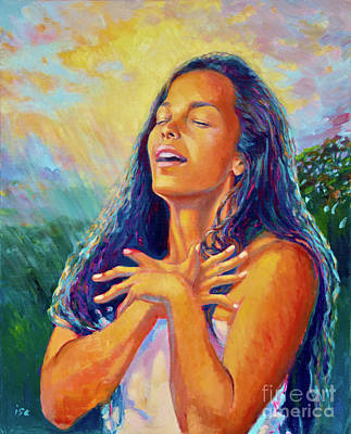 Painting - Hi'iaka's Blessing by Isa Maria