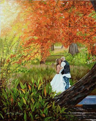 Painting - Love's Aglow by Alice Betsy Stone