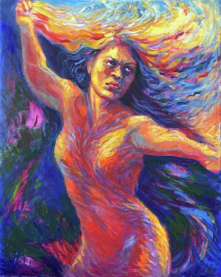 Painting - Pele Awakens by Isa Maria