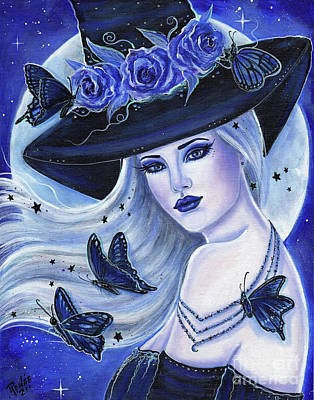 Painting - Taken by the sky witch by Renee Lavoie