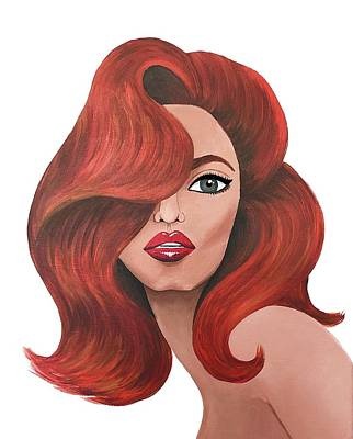 Painting - The Redhead by Allison Liffman