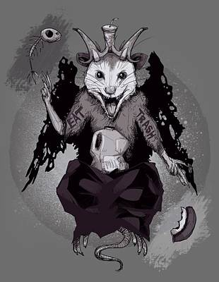 Possums Art