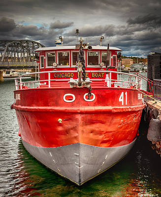 Designs Similar to Chicago Fire Boat