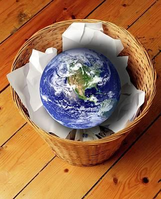 Designs Similar to Earth In Bin