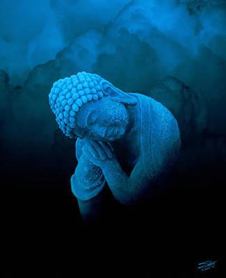 Blue Healer Digital Art