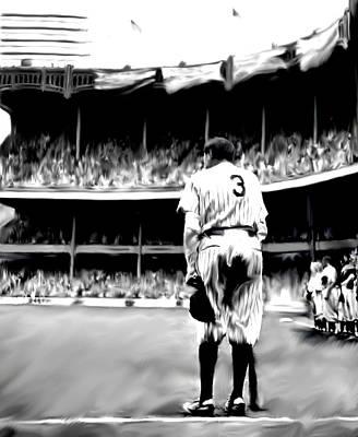 Babe Ruth Drawings