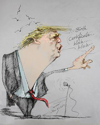 Barack Obama Drawings Original Artwork