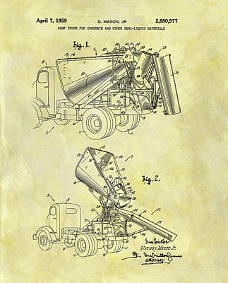 Designs Similar to 1959 Concrete Dump Truck